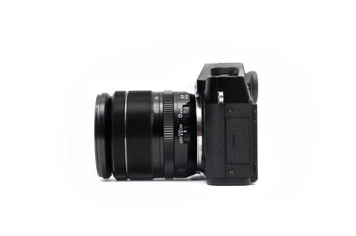 Exemplarische Kamera für die Produktfotografie Schulung